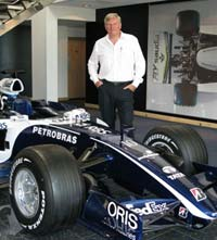 Brian has helped improve the safety design of F1 cars.