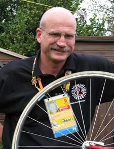 John will be running the triathlon event at the Olympic Games in London in 2012.