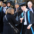 January 2012 graduation ceremony