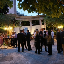 Athens alumni reception