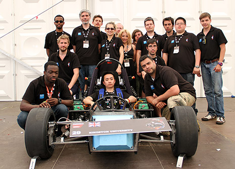 KU e-Racing shines at Silverstone