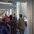Our alumni were shown the new facilities available at the Knights Park learning resources centre