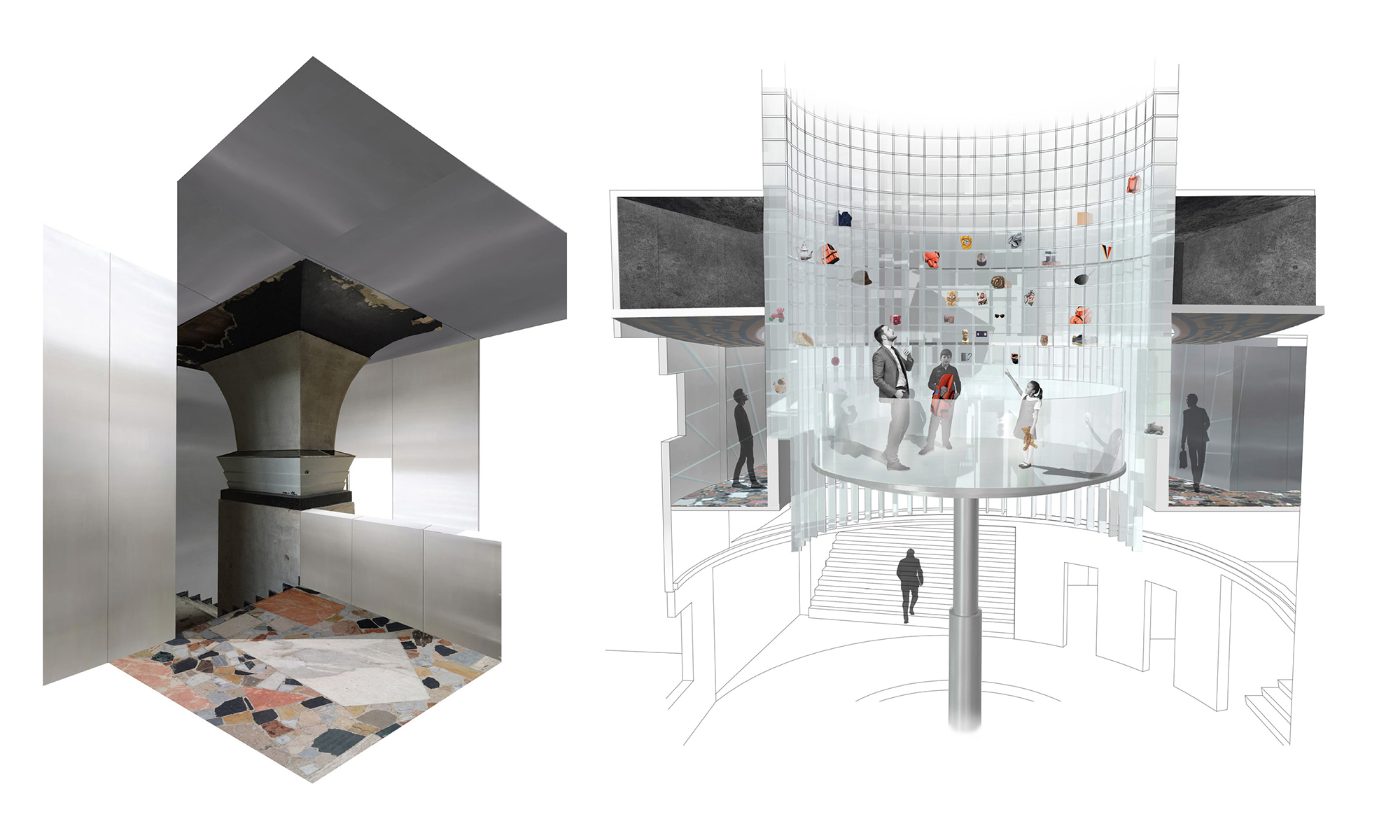 Student work interior design ba hons degree course for - Materials needed for interior design ...