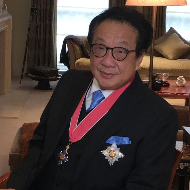 Tan Sri (Sir) Francis Yeoh - awarded Knight Commander of the Most Excellent Order of the British Empire (KBE) in recognition of his substantial contribution to economic relations between Malaysia and the United Kingdom, and to the UK economy.