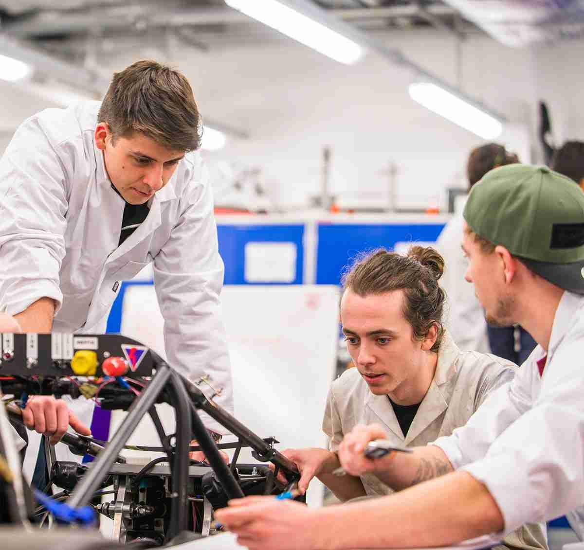 Mechanical Engineering MEng/BEng (Hons) degree course - London