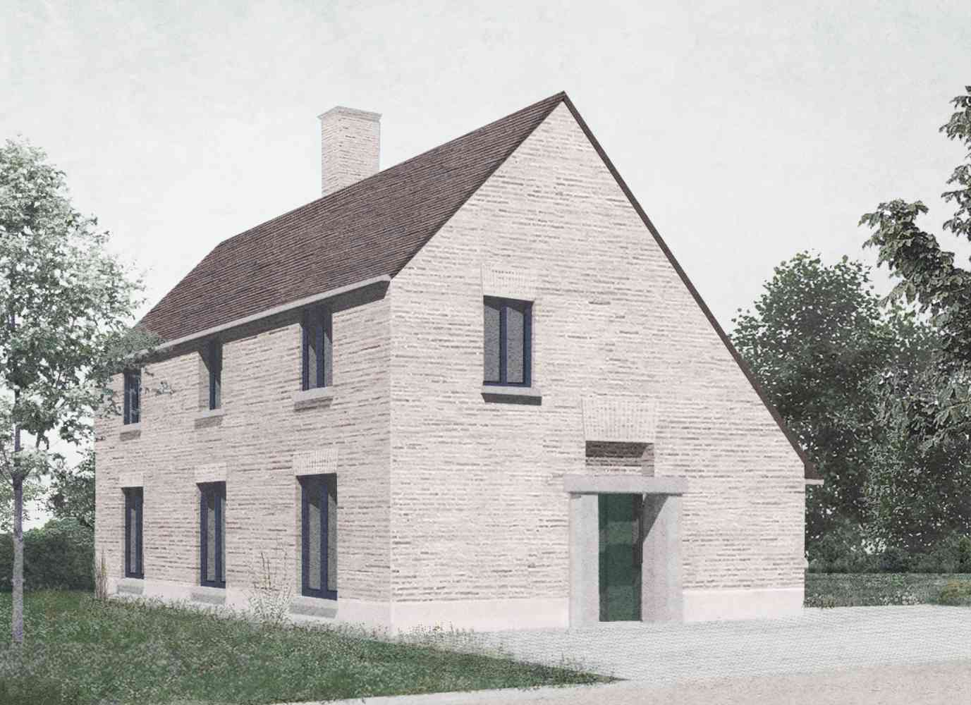 Village Development, 2021 - Eight new houses on a village edge site in Cambridgeshire. Planning approval granted 2019, construction 2021.