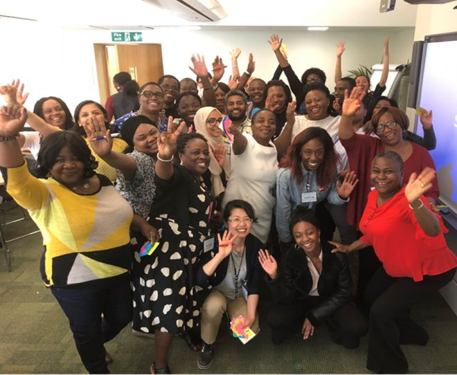 The latest group of students to be part of the Harnessing BAME Mental Health Nurses' Talent programme.