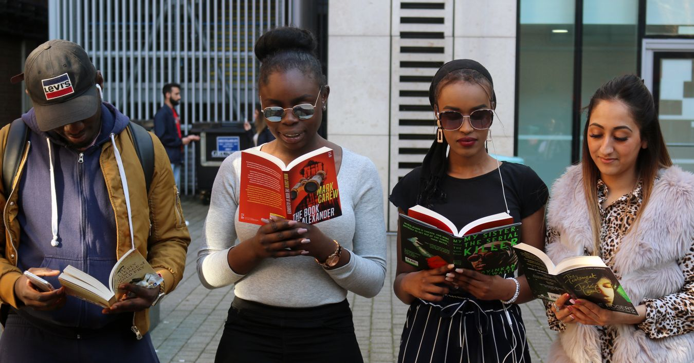 Kingston University students get their first look at the shortlisted books