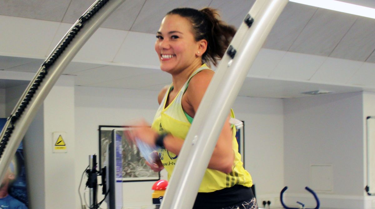 Ultra runner Susie Chan sets new 12-hour treadmill world record at Kingston University