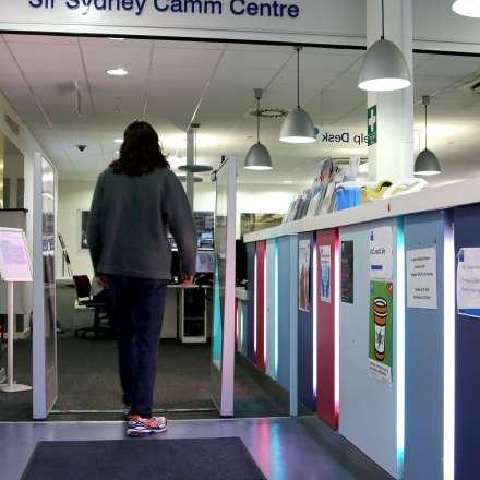 Entrance to the Sir Sydney Camm Centre LRC