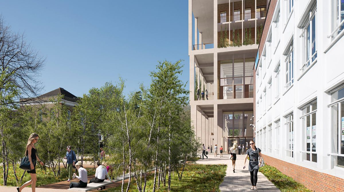 New £55m landmark building at Kingston University's Penrhyn Road campus gets go ahead