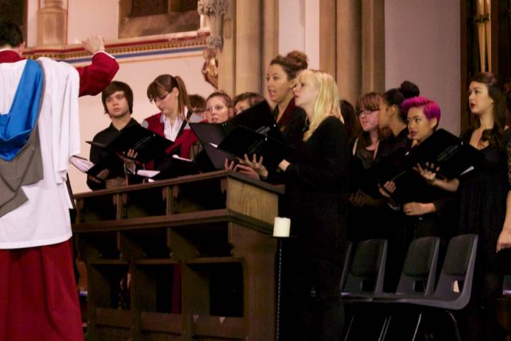 Kingston University Carol Service