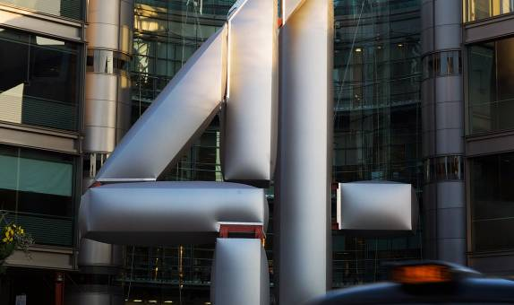 Fashion graduate breathes life into Channel 4 logo