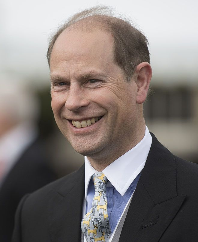 HRH Prince Edward, The Earl of Wessex, KG, GCVO