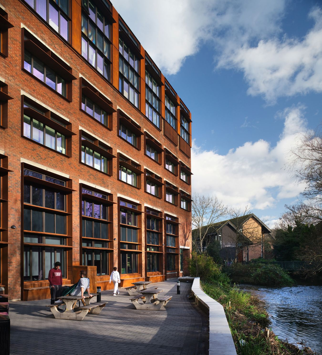 The Mill Street Building is on course to achieve a BREEAM outstanding rating for sustainability, delivering a 52% reduction in carbon emissions credit-Philip Vile