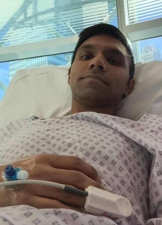 Mo Haque has now begun immunotherapy treatment after raising enough money to cover the first course.