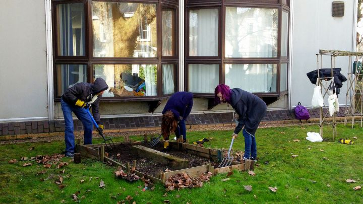 Community Garden Autumn Semester Launch