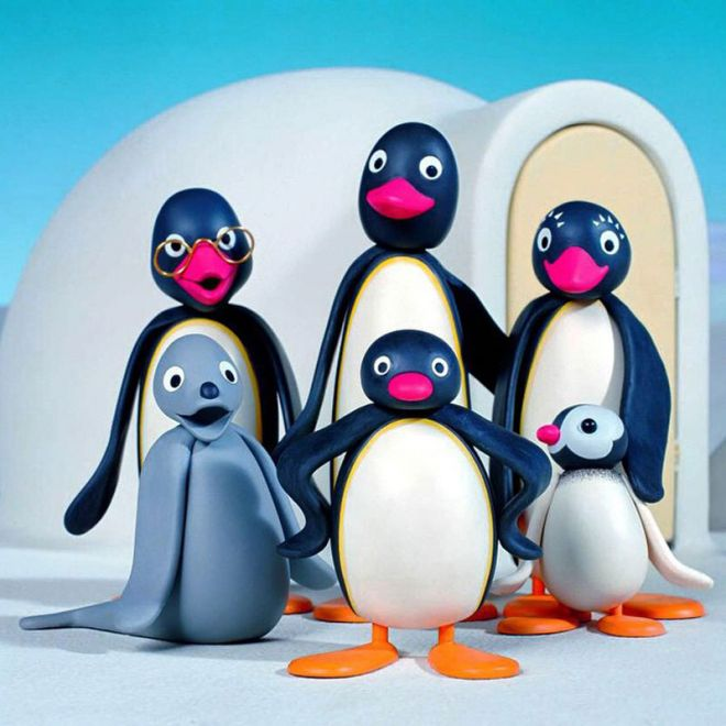 The curriculum has been centred around loveable cartoon character Pingu