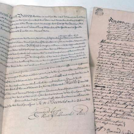 Canbury Park historic documents