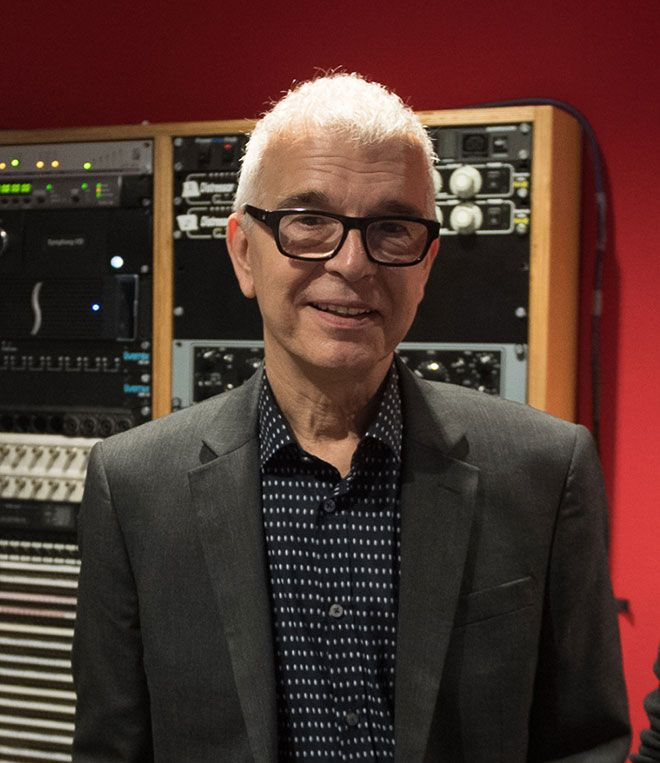 Legendary music producer Tony Visconti