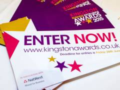 Kingston University sponsors Best Creative and Media Sector category at this year's Kingston Business Excellence Awards