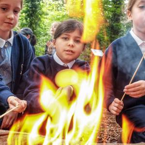 Outdoor learning helps school pupils deal with anxiety, Kingston University teaching expert says