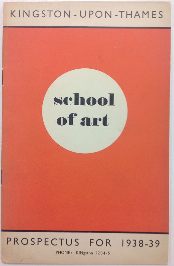 The Kingston School of Art prospectus was highly sought after by students each year. Photo: Kingston University Special Collections.