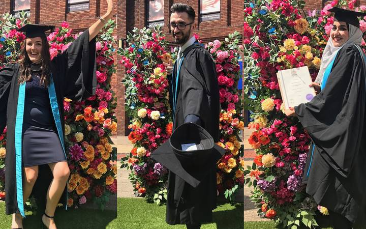 Hard work, dedication and success of Kingston University students applauded during week of graduation ceremonies at borough's Rose Theatre