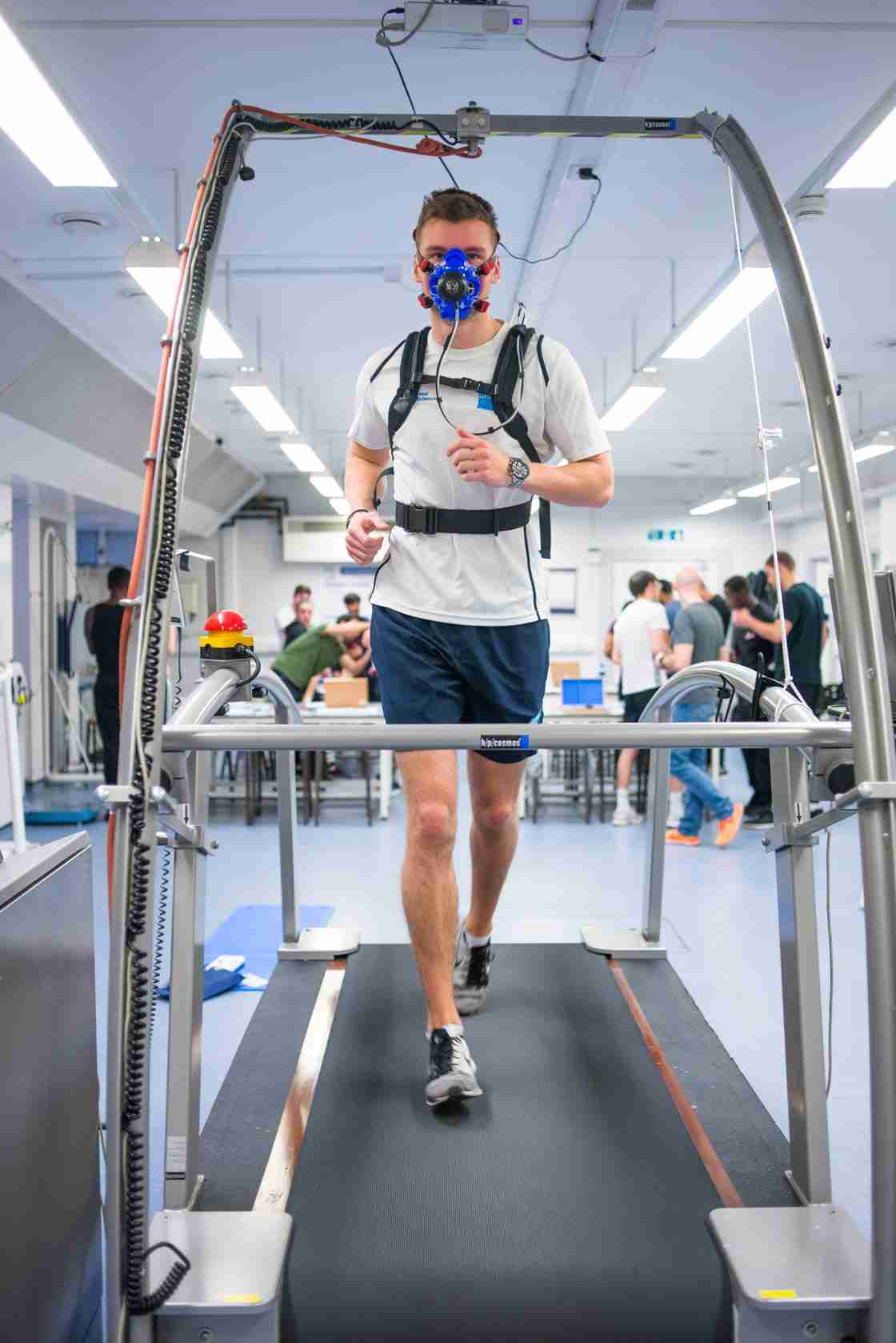 Exercise physiology and biomechanics laboratories