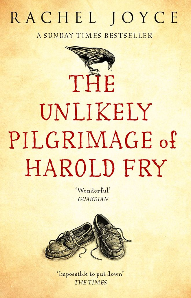 A photo of teh book cover of The Unlikely Pilgrimage of harold Fry.