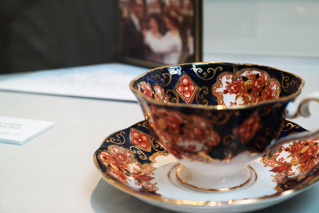 Picture of tea cup from Street Museum exhibition