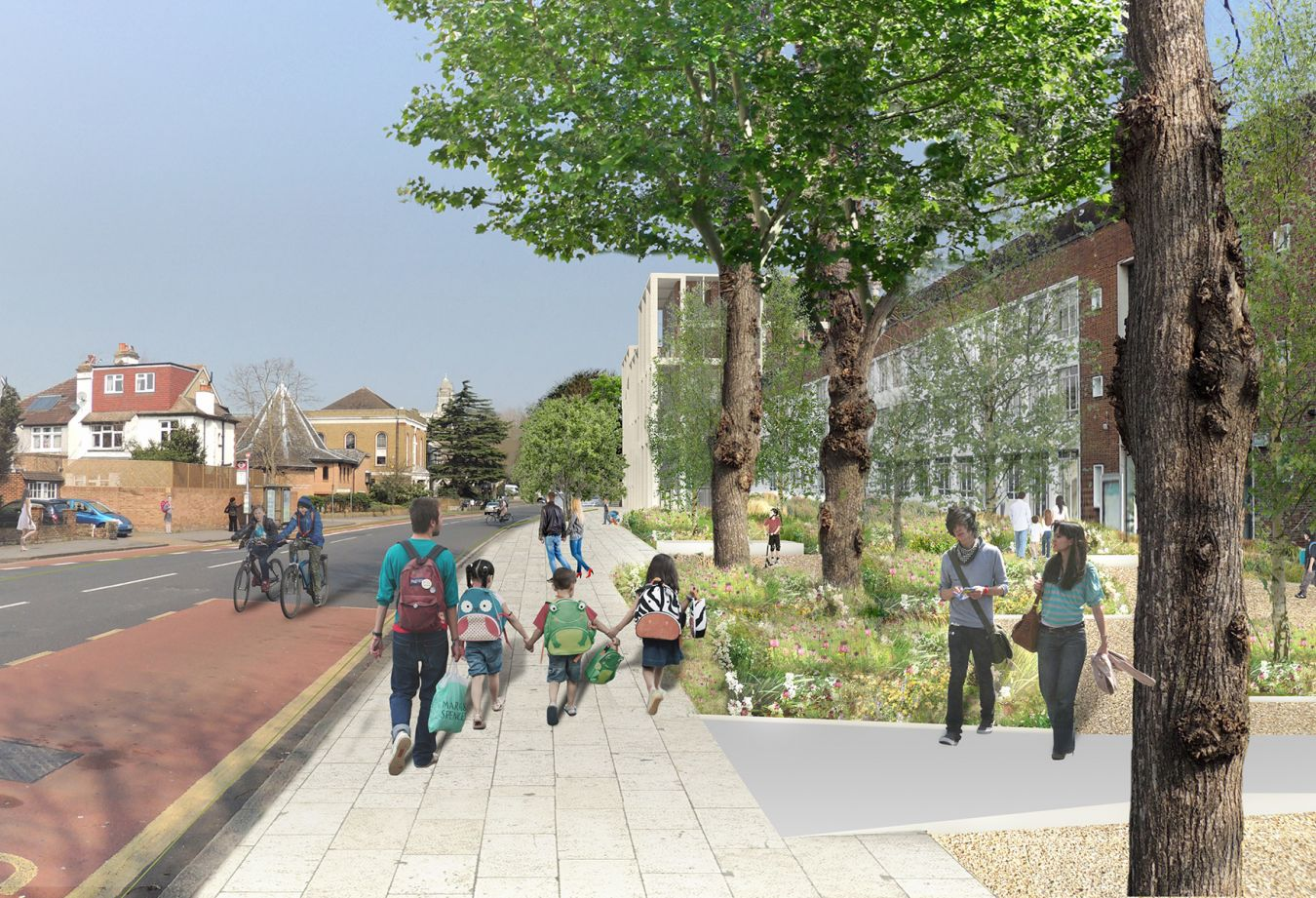 An improved approach to the University and Kingston Town Centre