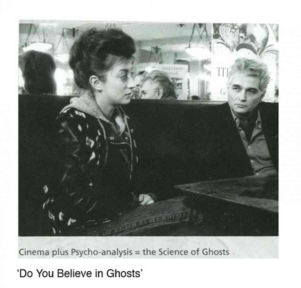 Do you believe in 'Ghosts'  Feature Film - Screen grab: Ghost Dance - with Jacques Derrida and Pascale Ogier