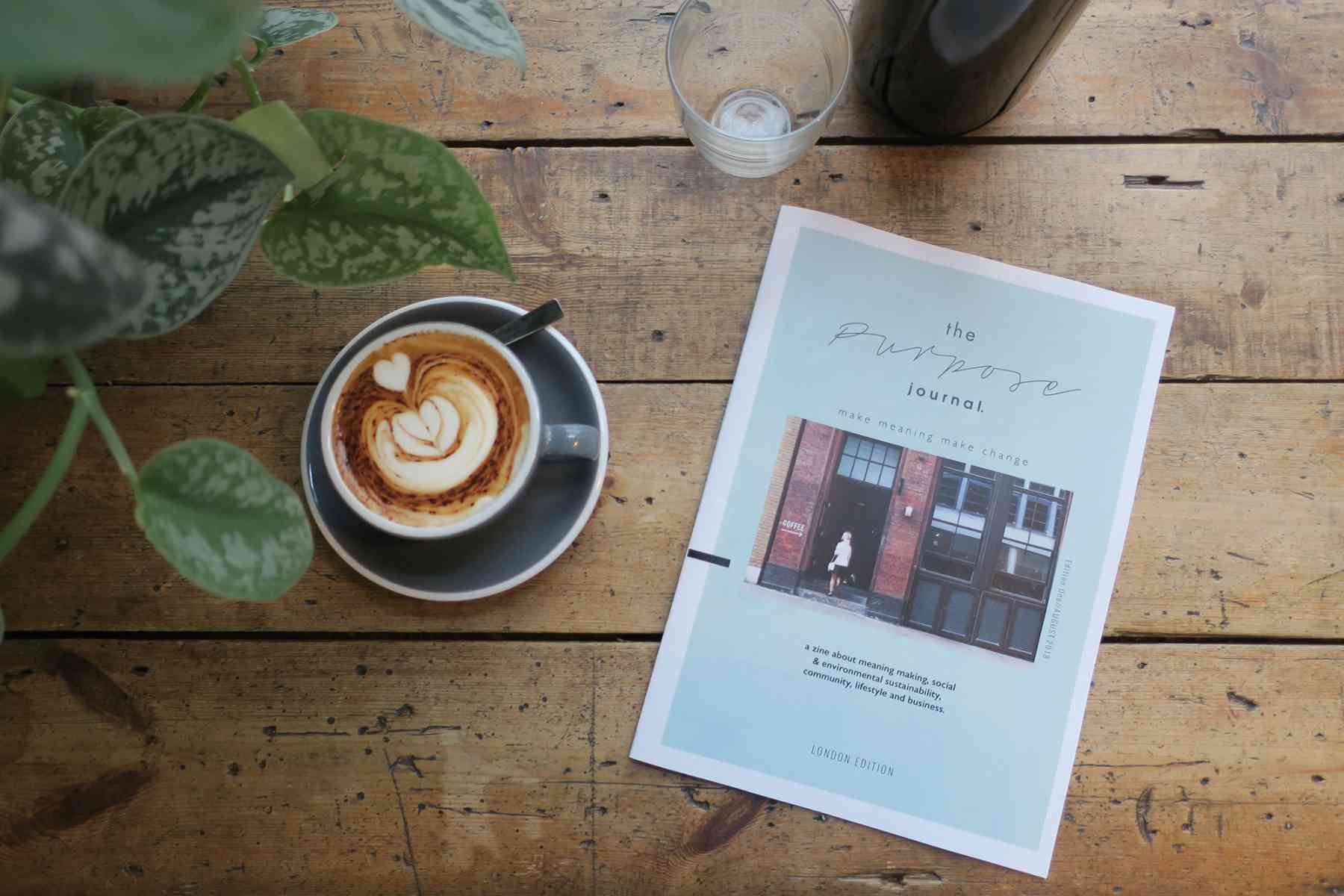 The Purpose Journal - A zine about meaning-making, social and environmental sustainability, community, lifestyle and business, by Katie Sharman