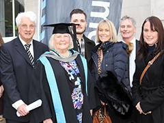 Inspirational 82 year old proves it's never too late to learn as she graduates with MA in Creative Writing from Kingston University