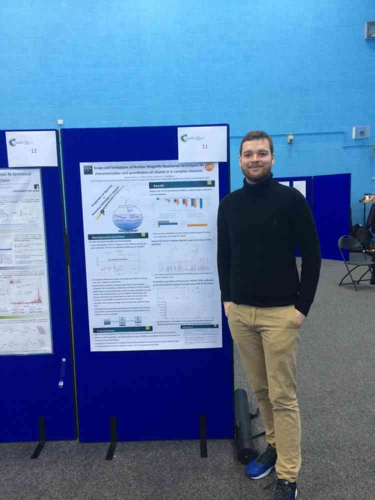 Cameron Robertson at Conference Leeds University, 2018 - ,RSC Biophysical Chemistry Conference