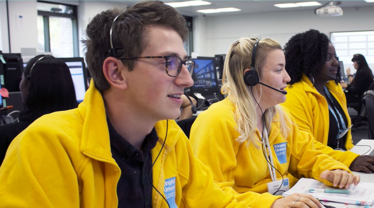 Eager Kingston University applicants hit the phone lines as race for a course place in Clearing continues