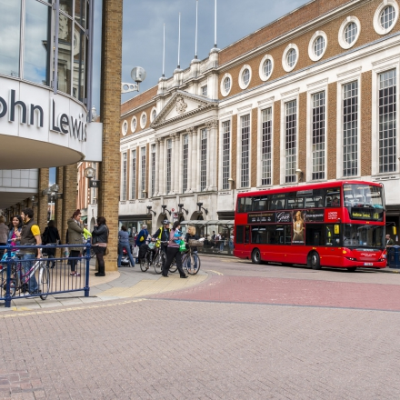 Kingston is serviced by a large amount of buses which can take you around South West London