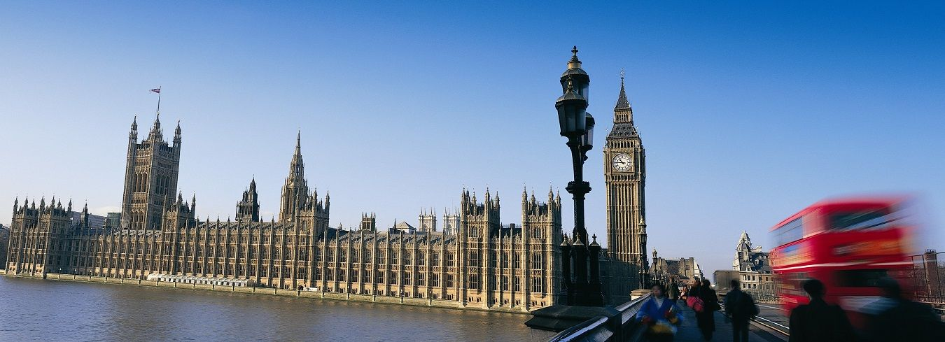 Image of Houses of Parliament. Kingston University is close to central London.