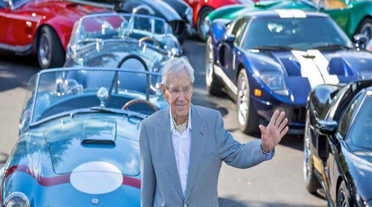 Obituary: Marking the achievements of Roy Lunn, Kingston University alumnus and 'Godfather of the Ford GT40'