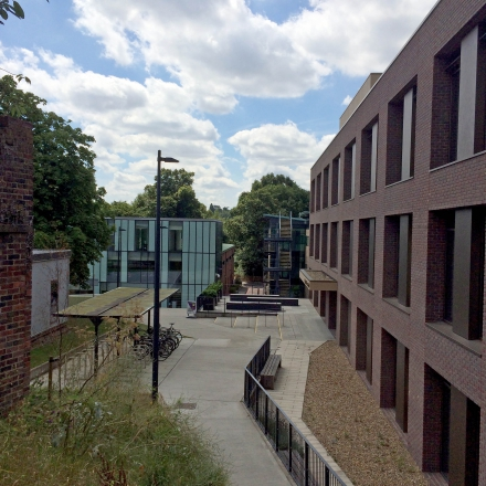 View of Kingston Hill campus