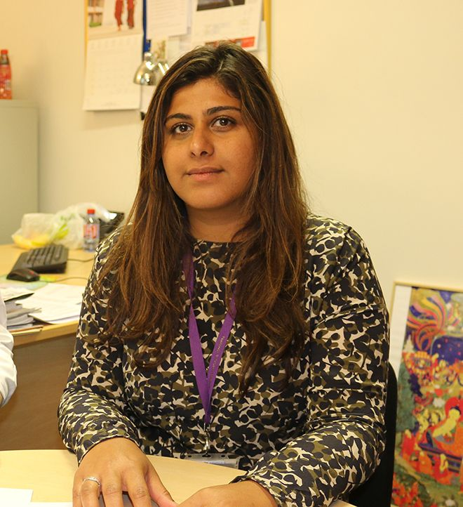 Dr Tushna Vandrevala, one of the research team who is a health psychologist and senior lecturer at Kingston University's School of Social and Behavioural Sciences