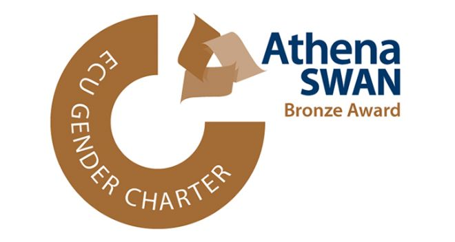 The Athena SWAN Bronze Award logo.