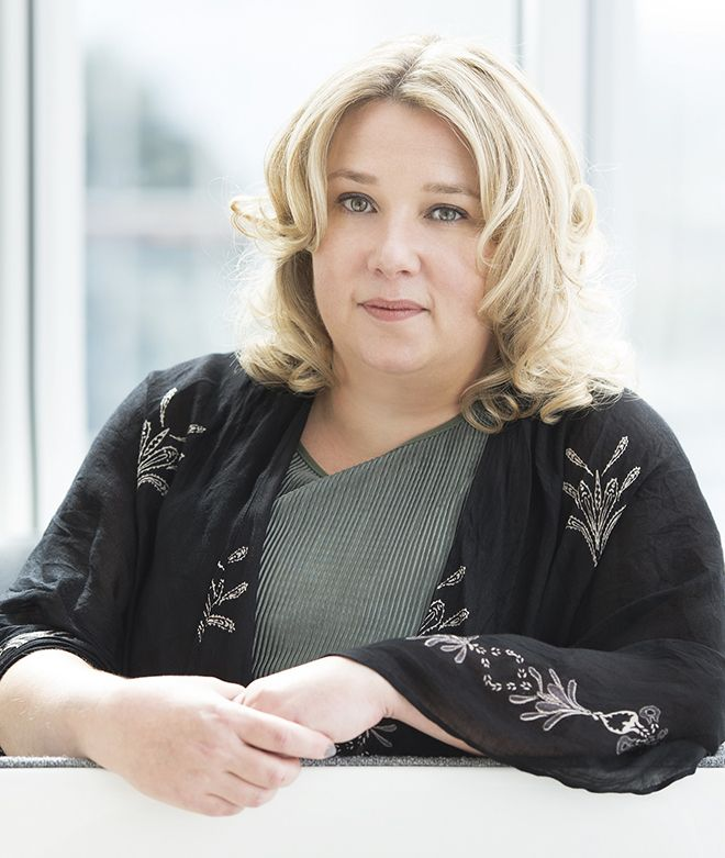 Author of Eleanor Oliphant is Completely Fine Gail Honeyman