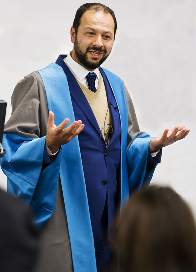 Photo of Professor Umut Turksen