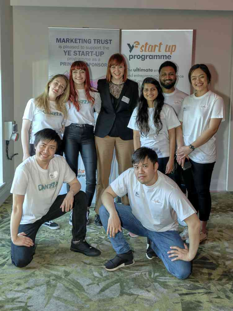 Young Enterprise National Start-up Competition Finals, May 2019 - Kingston Business School Teams Danzza and FitMe at Young Enterprise National Start-up Final, May 2019