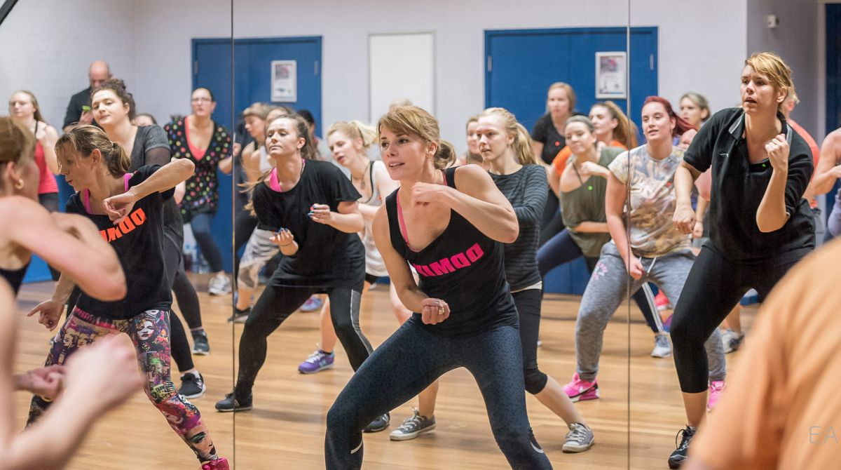 BBC Strictly Come Dancing judge Darcey Bussell steps into spotlight at Kingston University as part of Sport England This Girl Can campaign