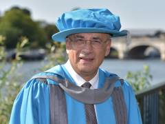 Leading judge and chair of landmark public inquiry in to journalism Sir Brian Leveson awarded Kingston University honorary degree