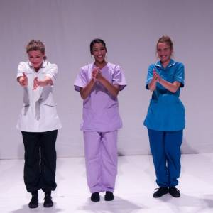 Kingston University nursing students learn drama techniques to help cope with working on coronavirus frontline