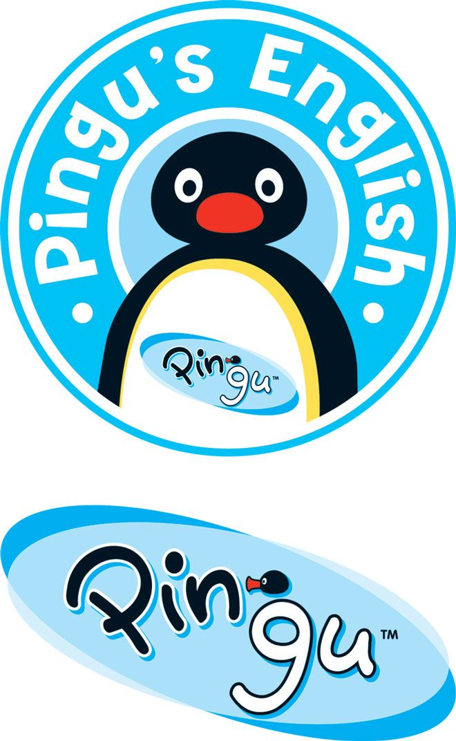 Pingu\'s English logo